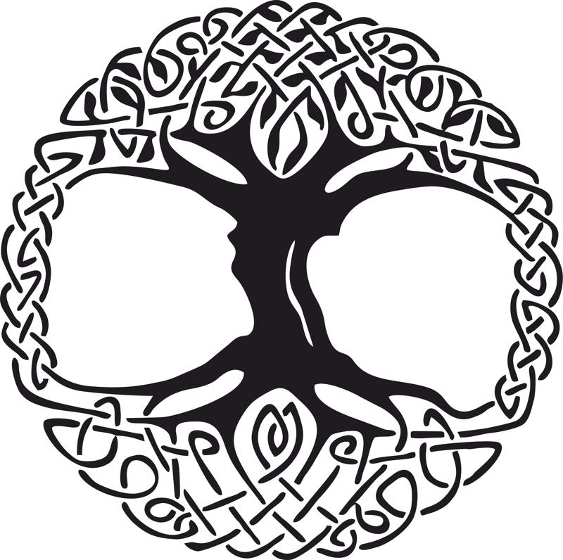 Celtic tree clipart vector clipart transparent library Celtic Tree Of Life Drawing | Free download best Celtic Tree Of Life ... clipart transparent library