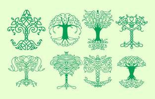 Celtic Tree Free Vector Art - (20,905 Free Downloads) svg stock