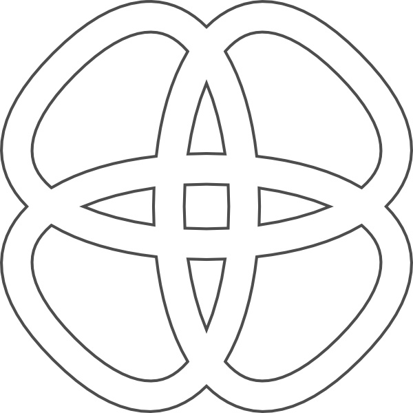 Celtic vector clipart jpg black and white download Celtic Knots clip art Free vector in Open office drawing svg ( .svg ... jpg black and white download