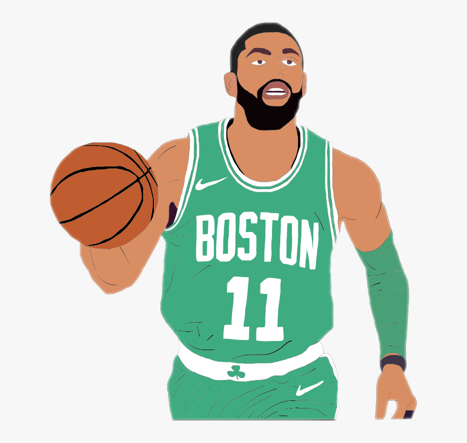 Celticcs clipart jersey image royalty free library Kyrieirving Irving Kyrie Celtics Cavs Nba - Boston Celtics Game ... image royalty free library