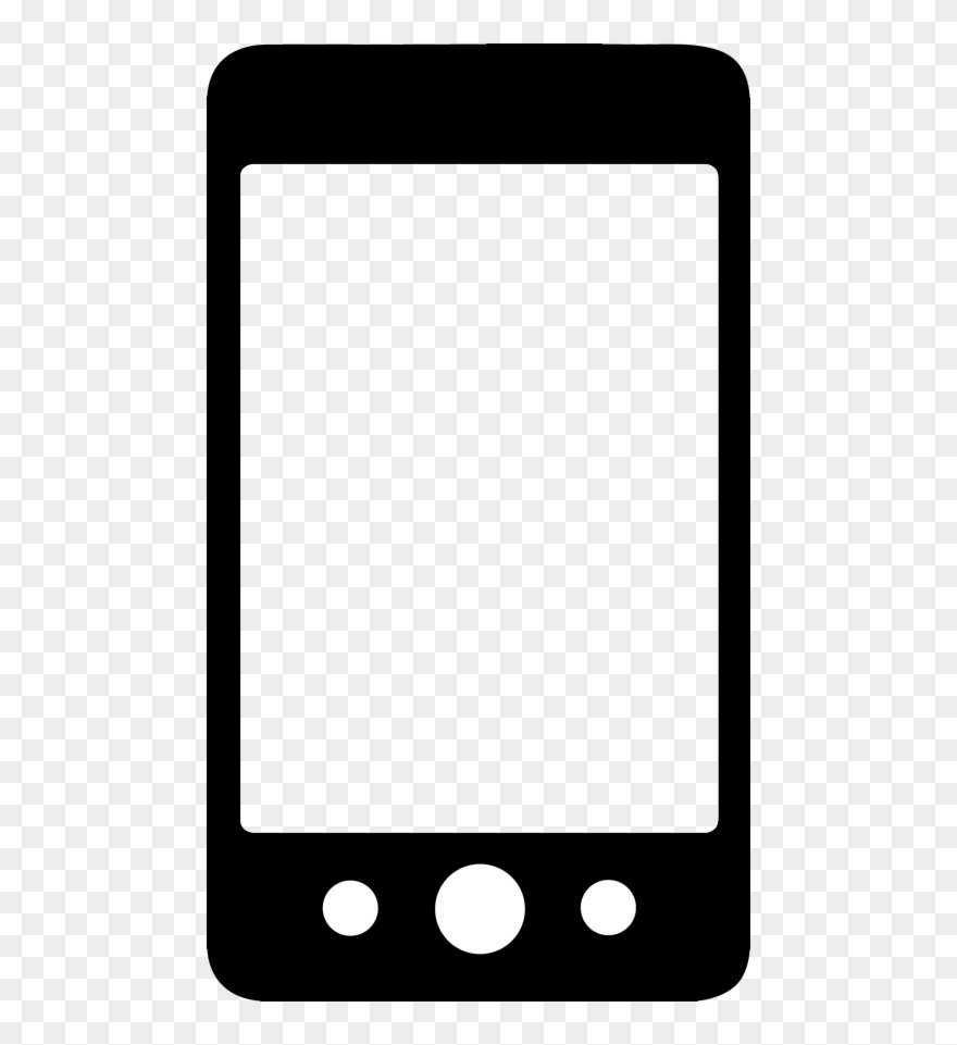 Celular clipart graphic black and white Readout Device - Icono Celular Negro Png Clipart (#1105981) - PinClipart graphic black and white