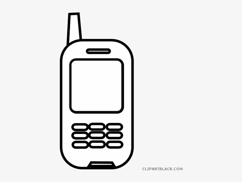 Celular clipart clip Jpg Free Library Cell Phone Black And White Clipart - Celular Blanco ... clip
