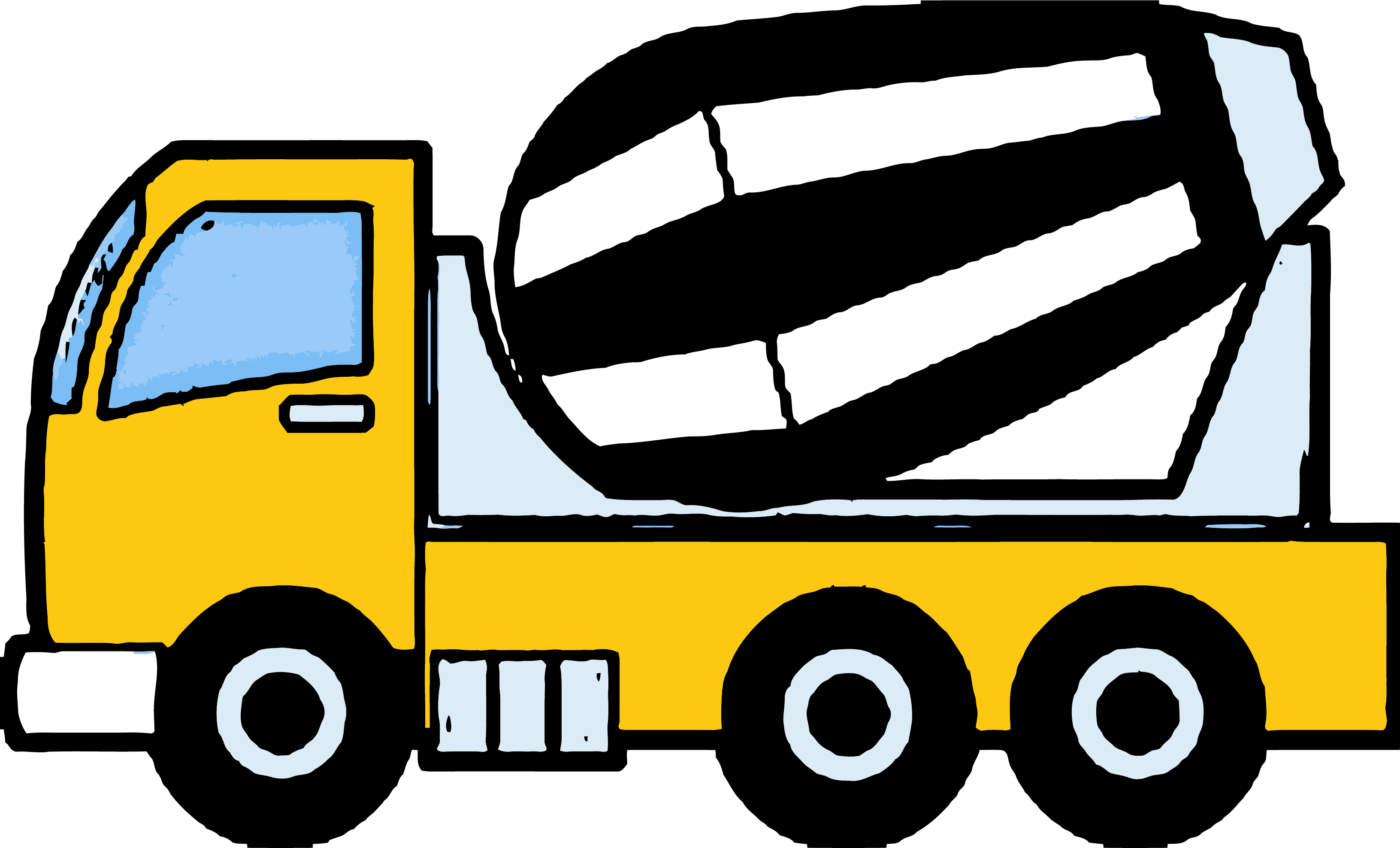 Cement truck clipart vector royalty free Cement Truck Construction Clipart Png – Clipartly.com vector royalty free