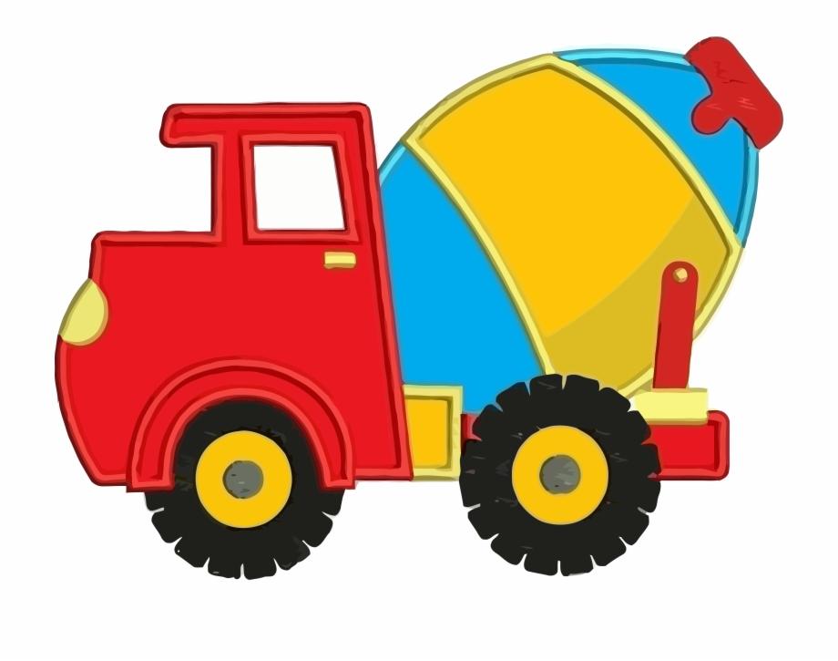 Clipart cement mixer vector free Cement Truck Colorful Clipart Png - Cement Mixer Clip Art Free PNG ... vector free