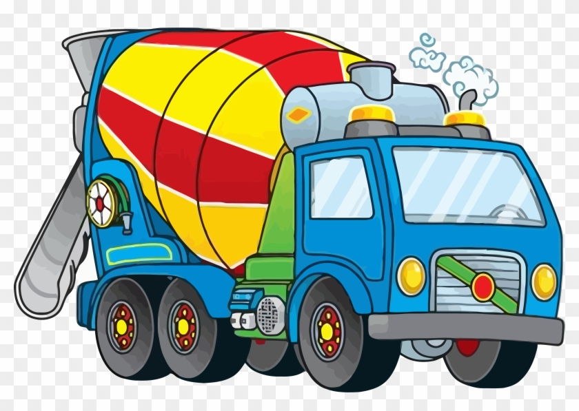 Concrete truck clipart svg free stock Nice Cement Truck Clipart Png - Cement Mixer Truck Clipart Free ... svg free stock