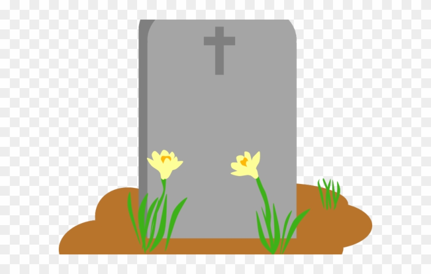 Cementary clipart png transparent stock Gravestone Clipart Rip Cross - Cemetery Clipart - Png Download ... png transparent stock