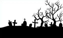 Cementary clipart banner transparent Free Pretty Graveyard Cliparts, Download Free Clip Art, Free Clip ... banner transparent