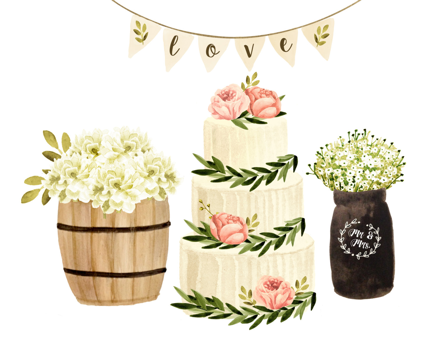 Centerpieve clipart png library Wedding Centerpiece Cliparts - Cliparts Zone png library