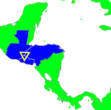 Central america clipart vector freeuse stock Northern Triangle of Central America - Wikipedia vector freeuse stock