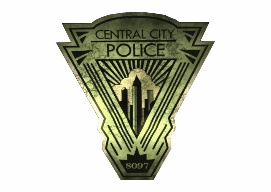Central city clipart transparent download Central City Police Department - Central City Police Logo Free PNG ... transparent download