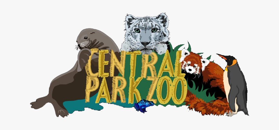 Central park clipart clip art black and white download Snapchat Filters Clipart Animal - Central Park Zoo Png #744422 ... clip art black and white download