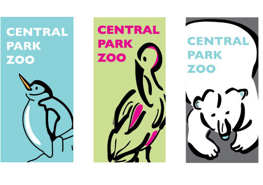 Central park zoo logo clipart picture download Central Park Zoo OOH : Molly O'Brien Design picture download