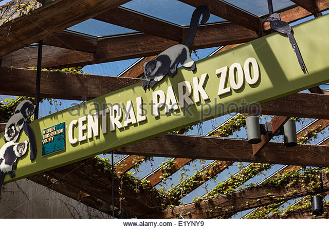 Central park zoo wildlife logo clipart png free stock Informative Sign At Zoo Stock Photos & Informative Sign At Zoo ... png free stock