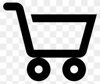 Shopping Cart Icon - Simbolo De Centro Comercial Clipart - Full Size ... clip transparent