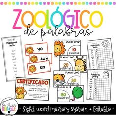 Centro de palabras de uso frecuente clipart image free download 7 Best Spanish High Frequency Words images in 2018 | Learning ... image free download