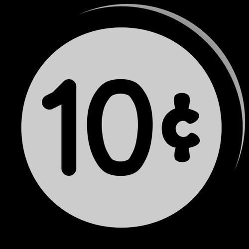 Cents clipart download Coin 10 cents | Public domain vectors download