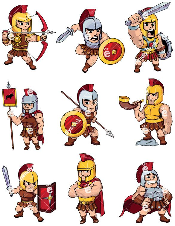 Centurion images clipart clip art black and white library Roman Soldiers & Centurions Collection | Clip Arts in 2019 | Roman ... clip art black and white library