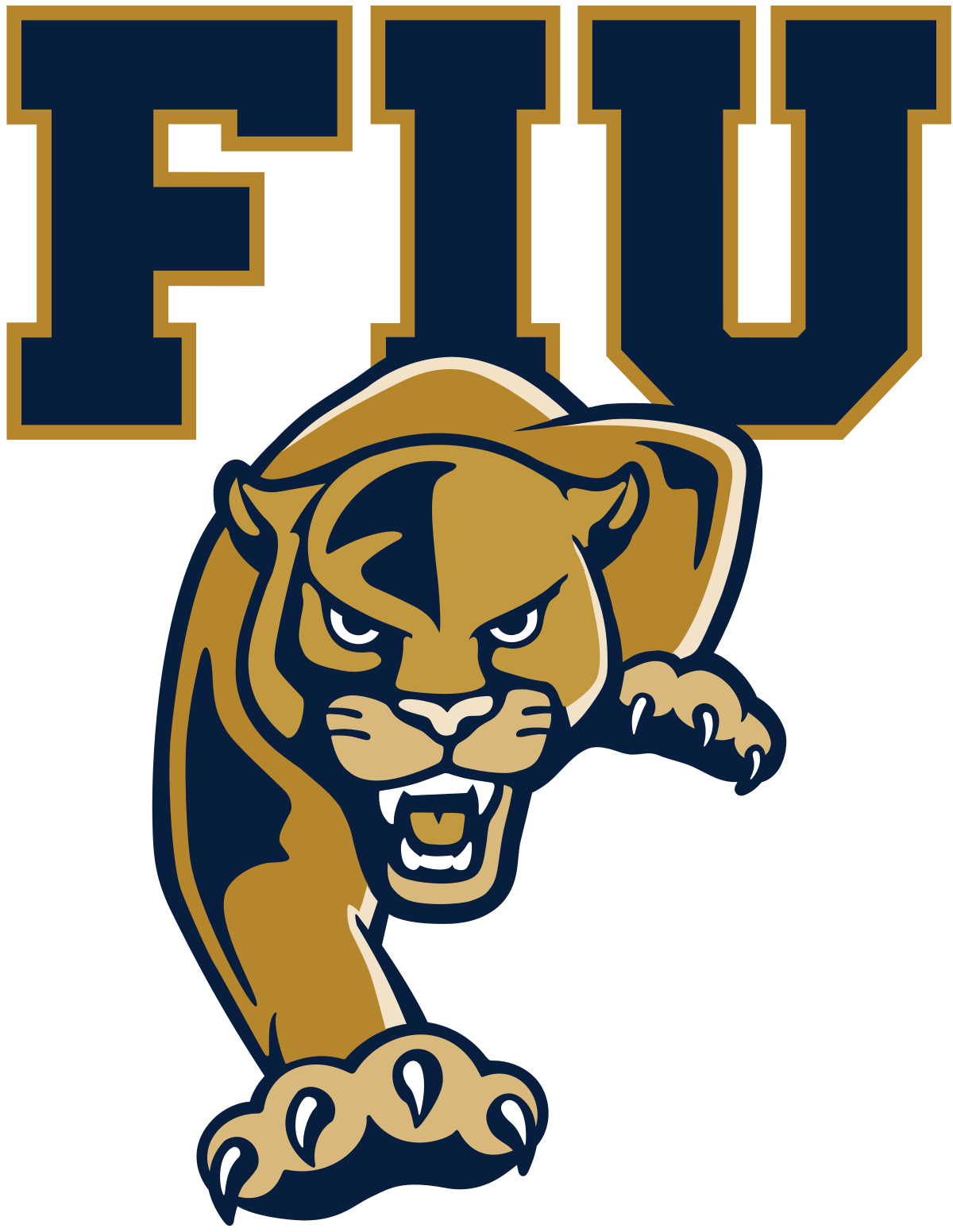 Century panther vector clipart clipart free FIU Panthers - Wikipedia clipart free