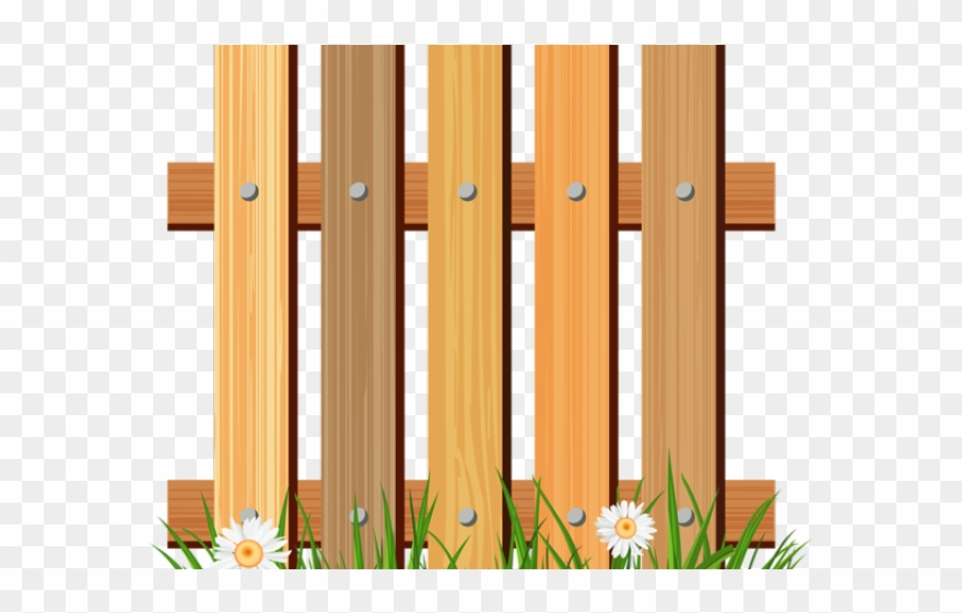 Cerca clipart graphic black and white stock Fence Clipart Wood Fence - Cerca .png Transparent Png - Clipart Png ... graphic black and white stock