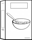 Cereal box and bowl clipart black and white banner Cereal Box Clipart & Look At Clip Art Images - ClipartLook banner