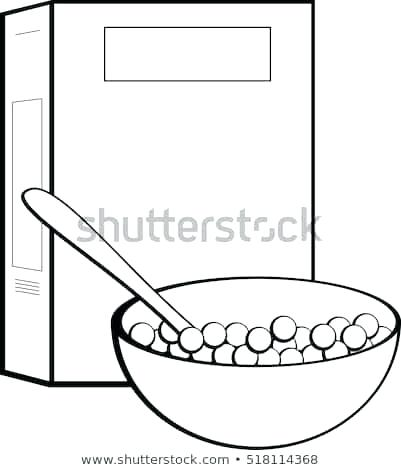 Cereal box and bowl clipart black and white jpg freeuse cereal box clipart – artsoznanie.com jpg freeuse
