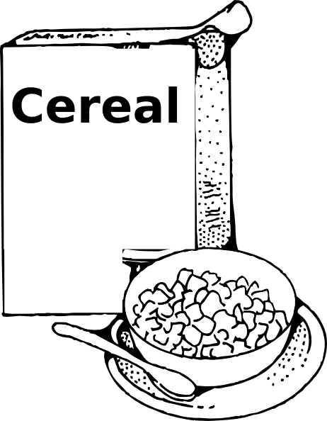 Cereal box and bowl clipart black and white black and white download Free Cereal Cliparts, Download Free Clip Art, Free Clip Art on ... black and white download