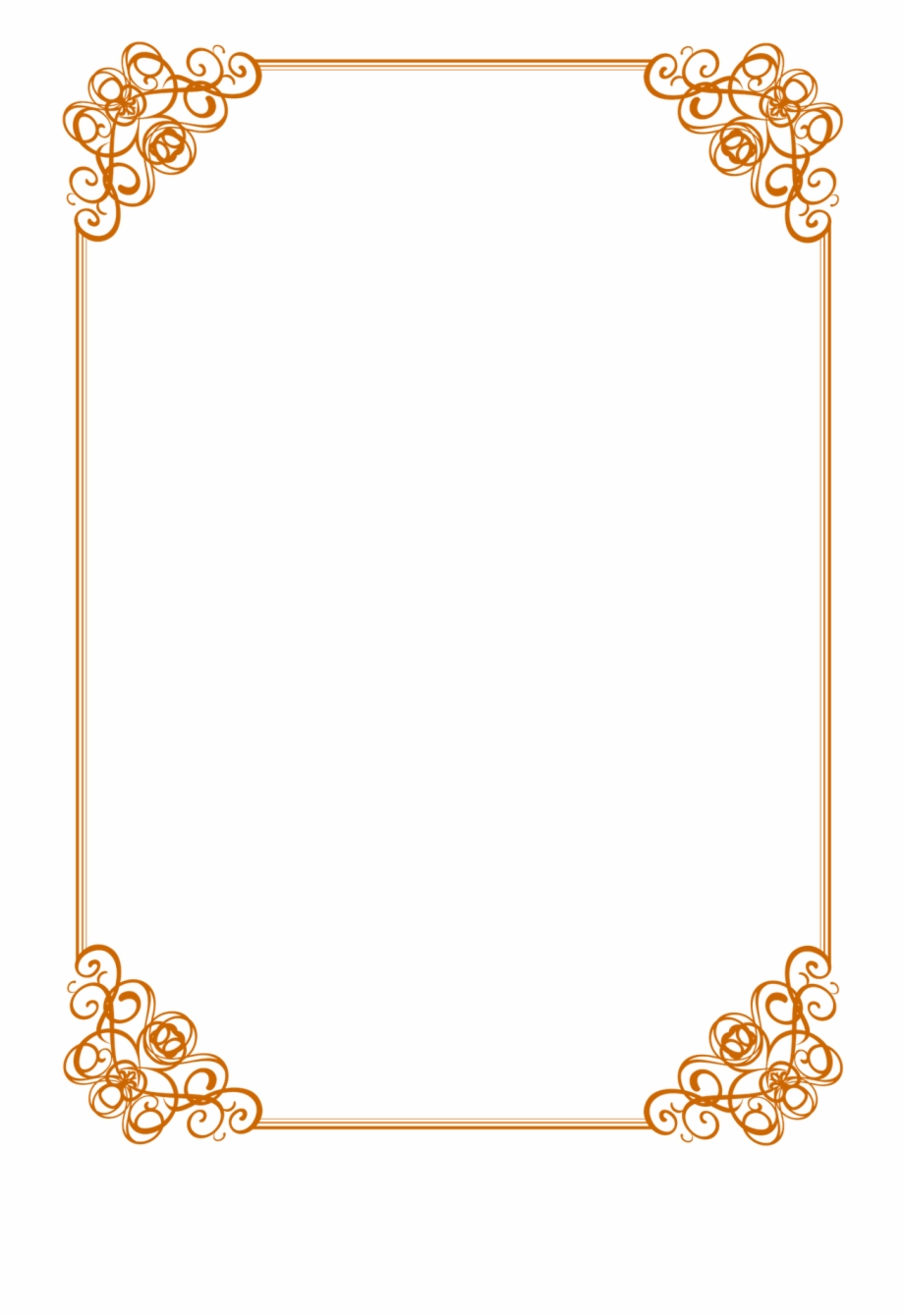 Certificate borders clipart templets graphic royalty free download Certificate Borders Templates Free 76484 - Border For Certificate ... graphic royalty free download