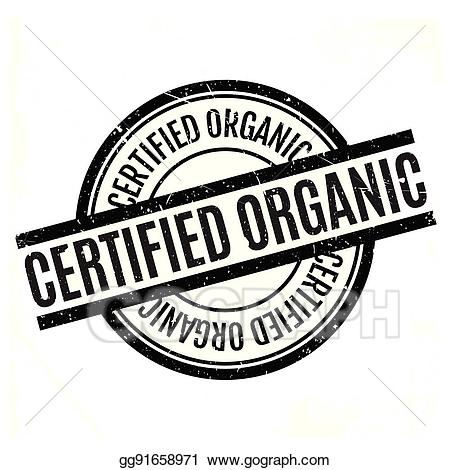 Certified organic clipart clip Vector Art - Certified organic rubber stamp. Clipart Drawing ... clip