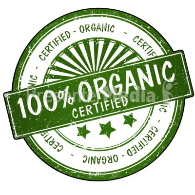Certified organic clipart svg transparent library 100% Organic Seal - Signs and Symbols - Great Clipart for ... svg transparent library