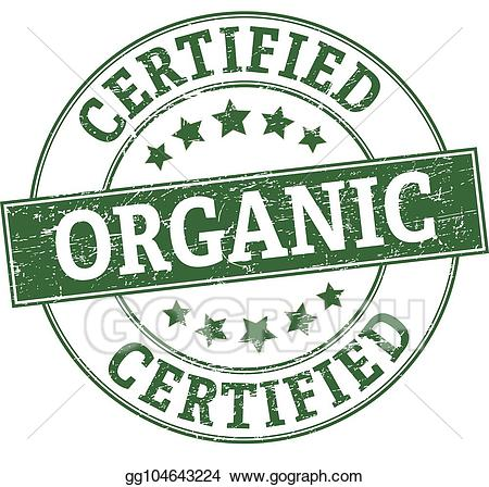 Certified organic clipart clipart free stock Stock Illustration - Certified organic round stamp. Clipart Drawing ... clipart free stock