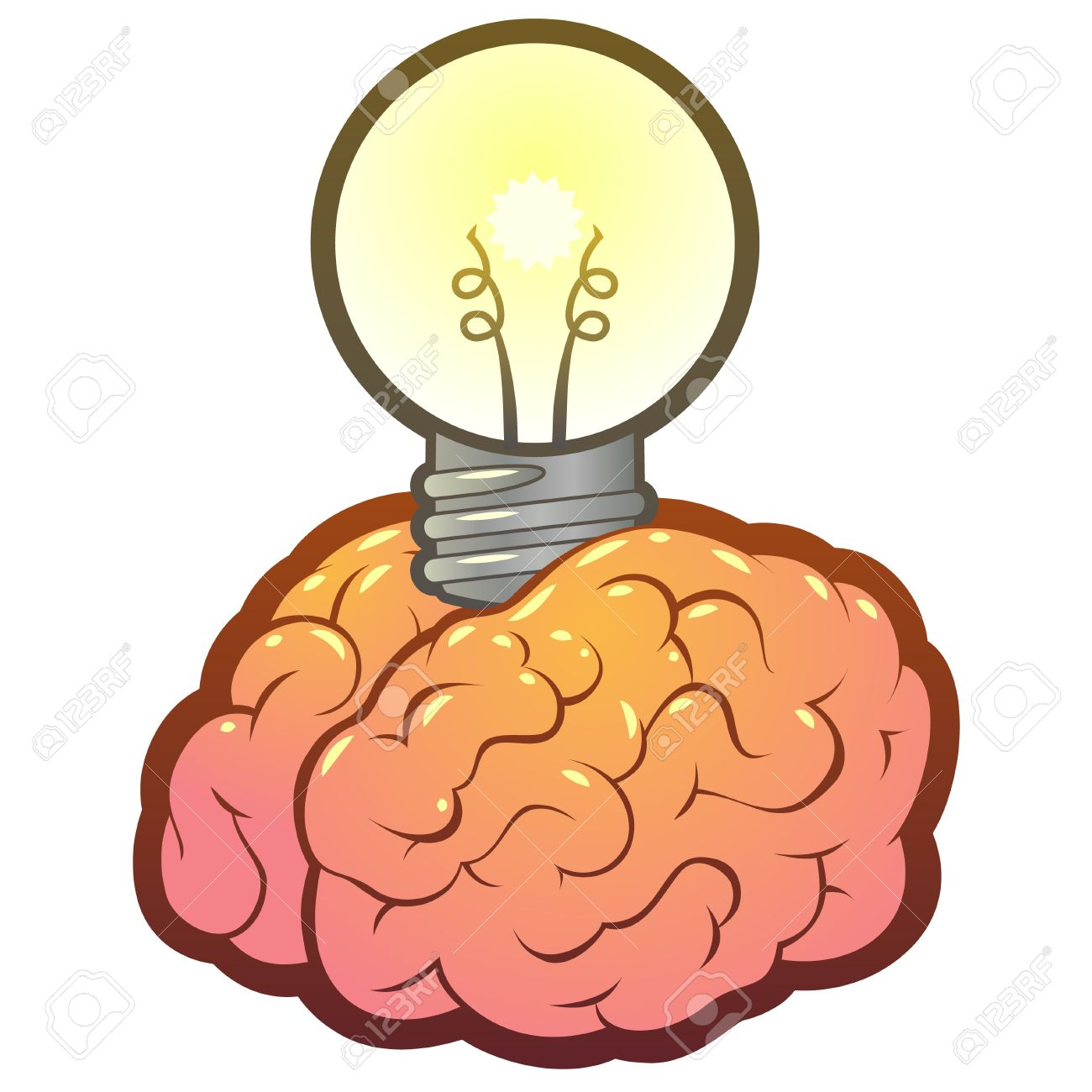 Cerveau clipart graphic Cerveau clipart 6 » Clipart Station graphic