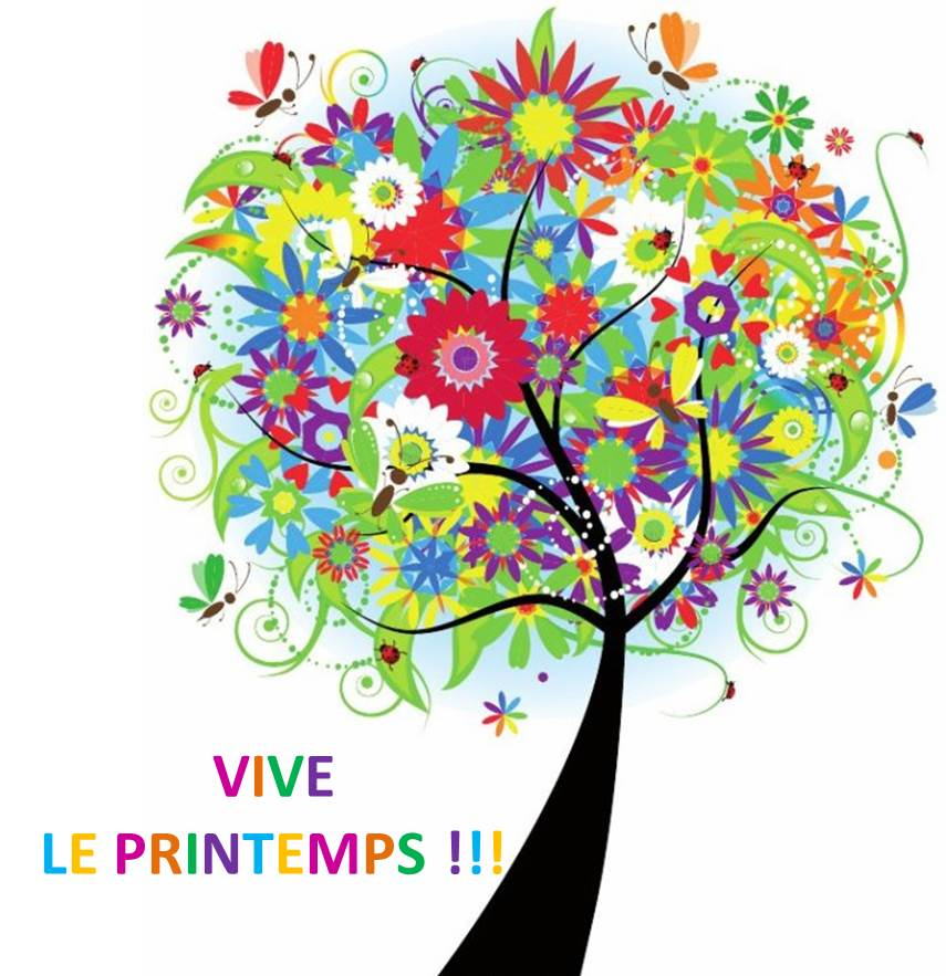 Cest le printemps clipart svg black and white Aujourd'hui, c'est .... le Printemps !!! - Blog de l'Hôtel Resort ... svg black and white