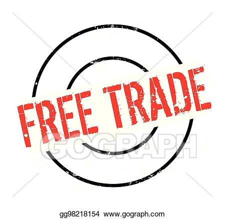Cfree clipart trade quotas image freeuse library Vector Art - Free trade rubber stamp. Clipart Drawing gg98218154 ... image freeuse library
