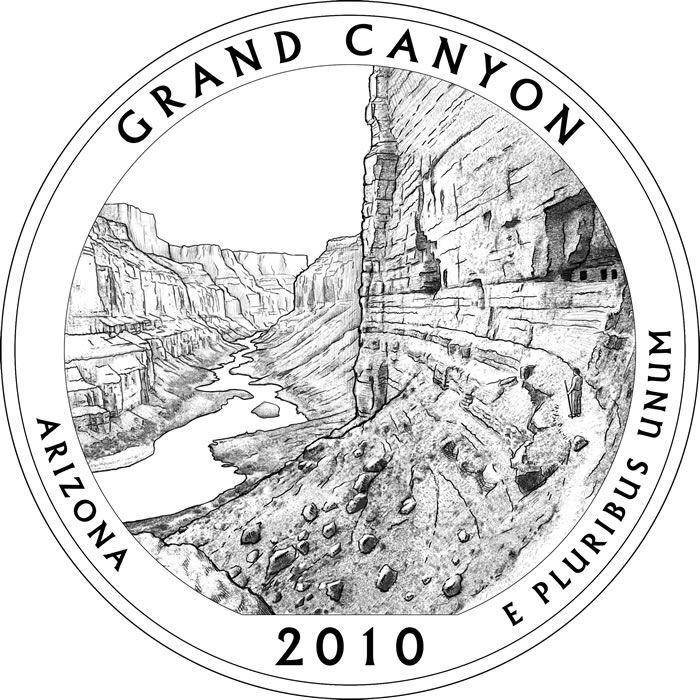 Quarter Coin Clipart Black And White National park quarter | Уроки ... jpg library stock