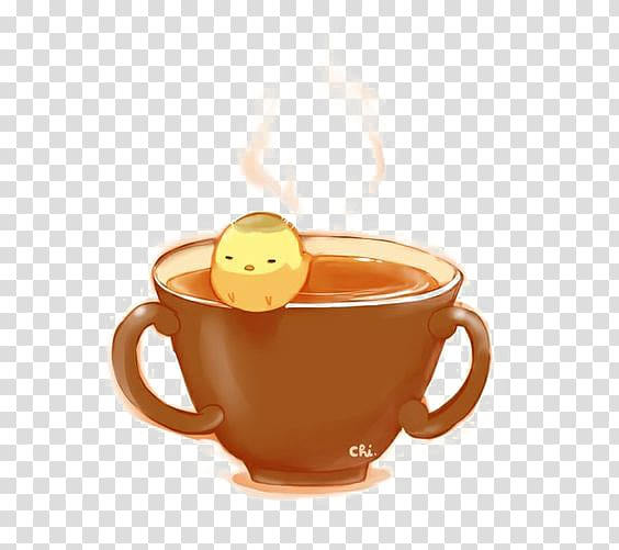 Masala chai Pixiv Drawing Anime Illustration, Cartoon cup ... picture freeuse stock
