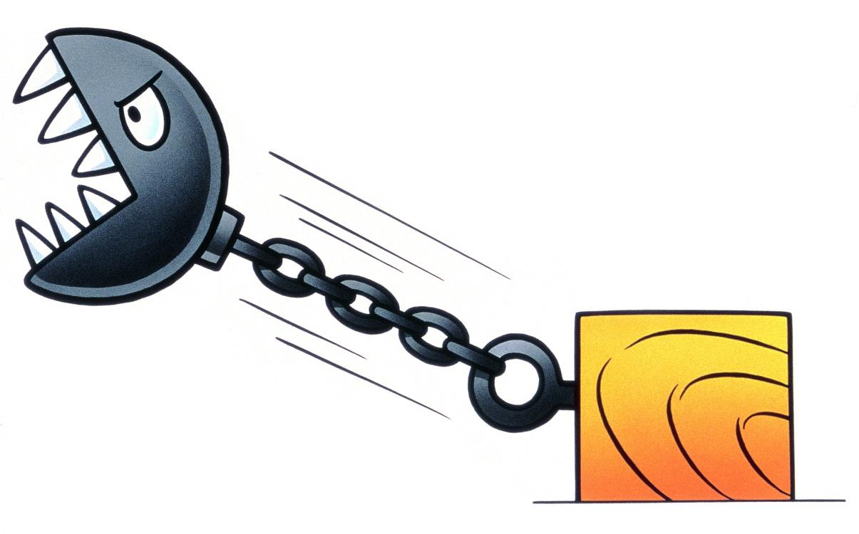 Chain chomp mario clipart clip art transparent library Chain Chomp (Concept) - Giant Bomb clip art transparent library