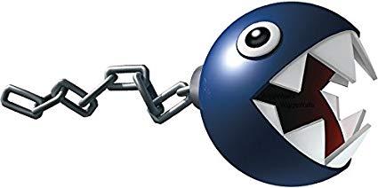 Chain chomp mario clipart jpg transparent library Amazon.com: 6 Inch Chain Chomp Super Mario Bros Brothers Removable ... jpg transparent library