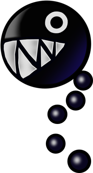 Chain chomp mario clipart png download Paper Mario render png download