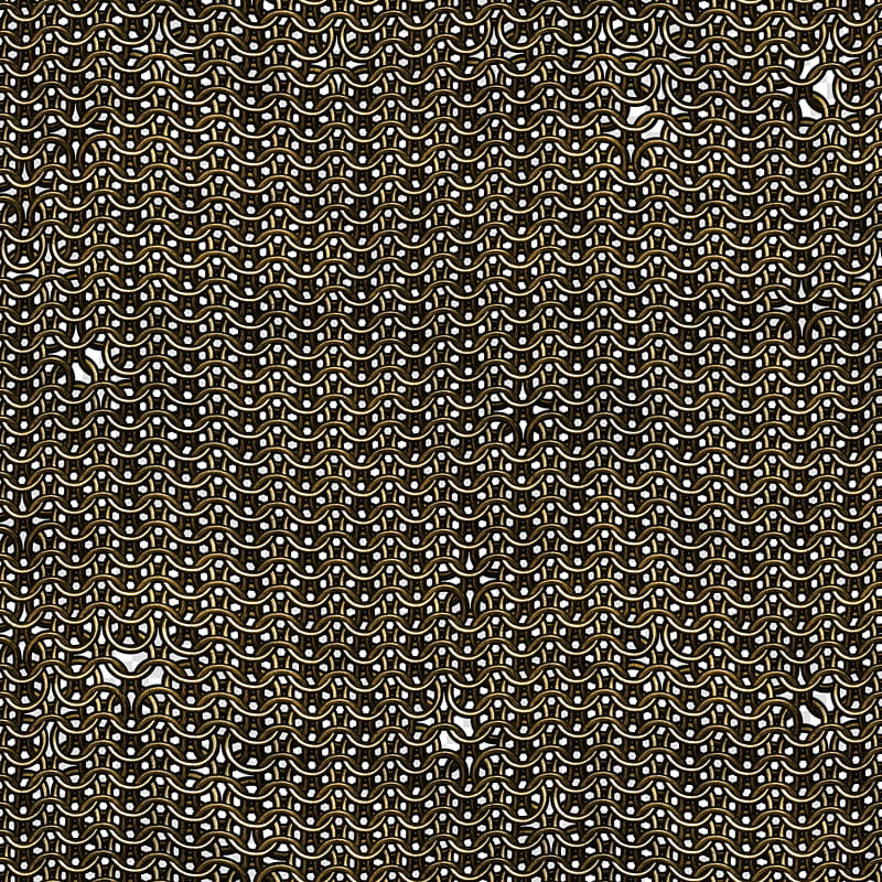 Chainmail seamless textures , brown woven chains illustration ... jpg black and white stock