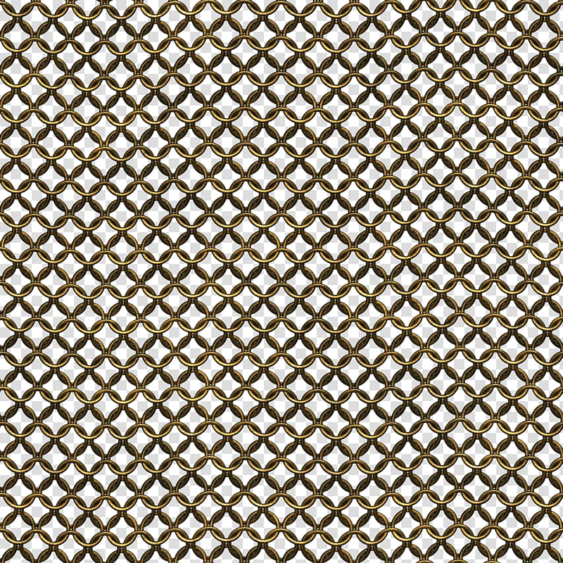 Chainmail seamless textures, brown chain illustration transparent ... vector library