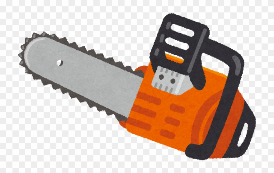 Chainsaw clipart images clipart free download Chainsaw Png - チェーンソー フリー Clipart (#3799646) - PinClipart clipart free download