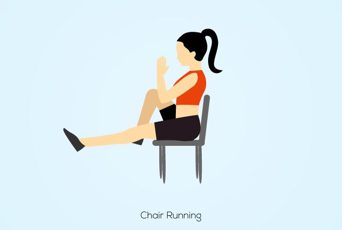 Chair aerobics clipart image transparent download 5 Best Chair Cardio Exercises To Burn Calories image transparent download