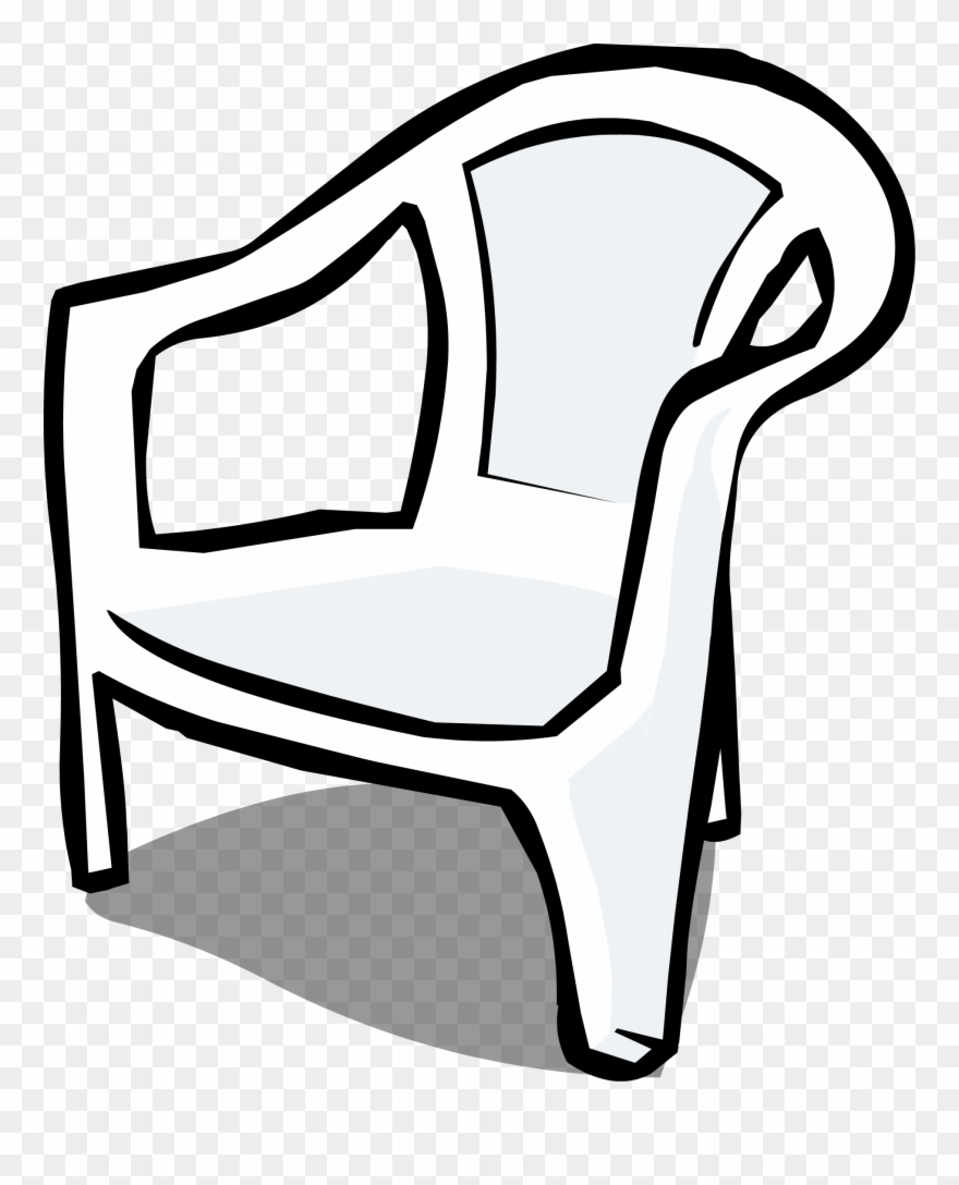 Chair and lamp clipart black and white clip art free Furniture Clipart Almira - Plastic Chair Clipart Black And White ... clip art free