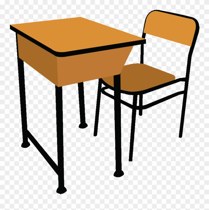 Classroom desk clipart picture freeuse download Table And Chairs Clip Art - Classroom Desk Clip Art - Png Download ... picture freeuse download