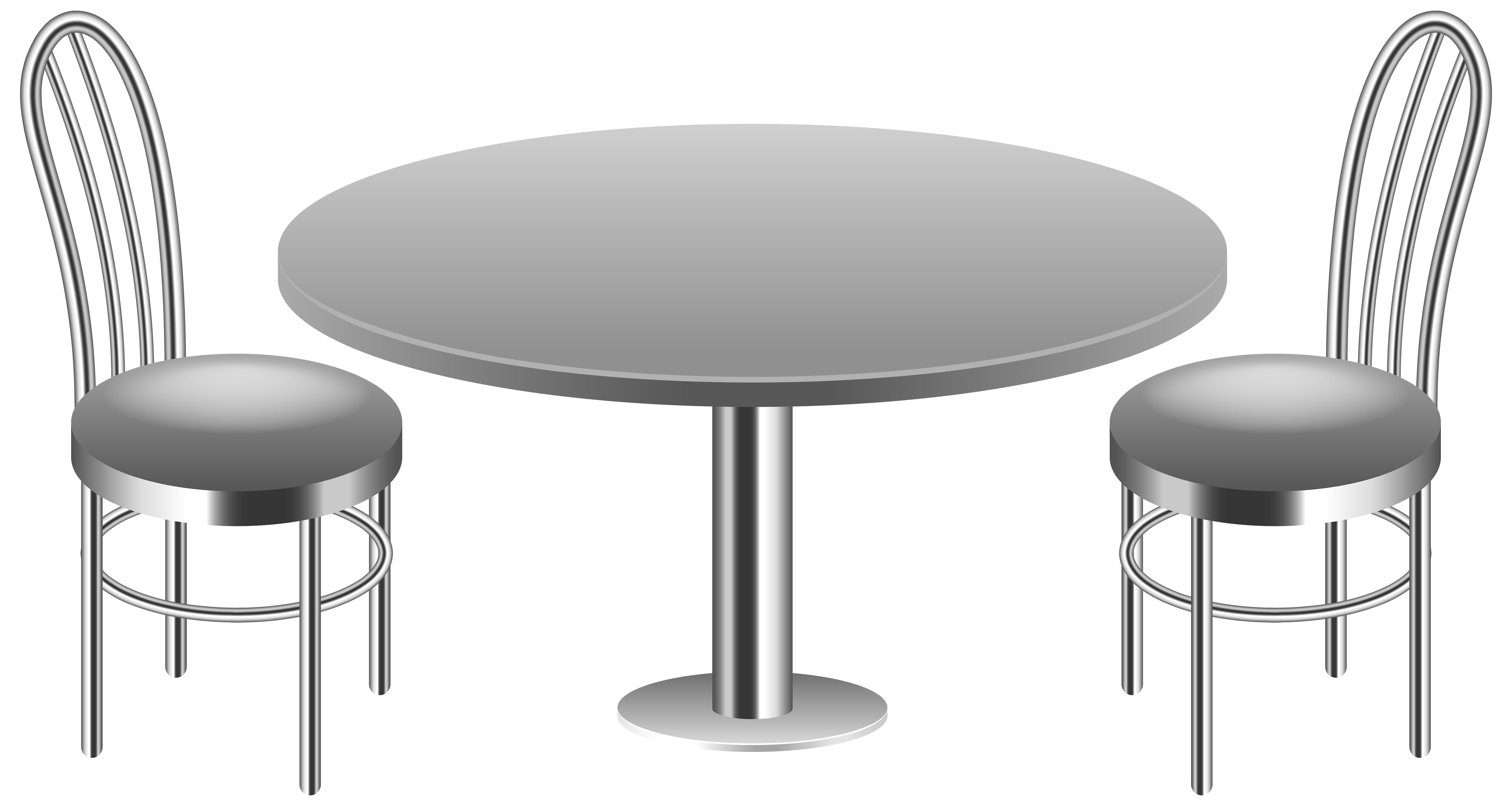 Table with Chairs Transparent PNG Clip Art Image | Gallery ... clip art download