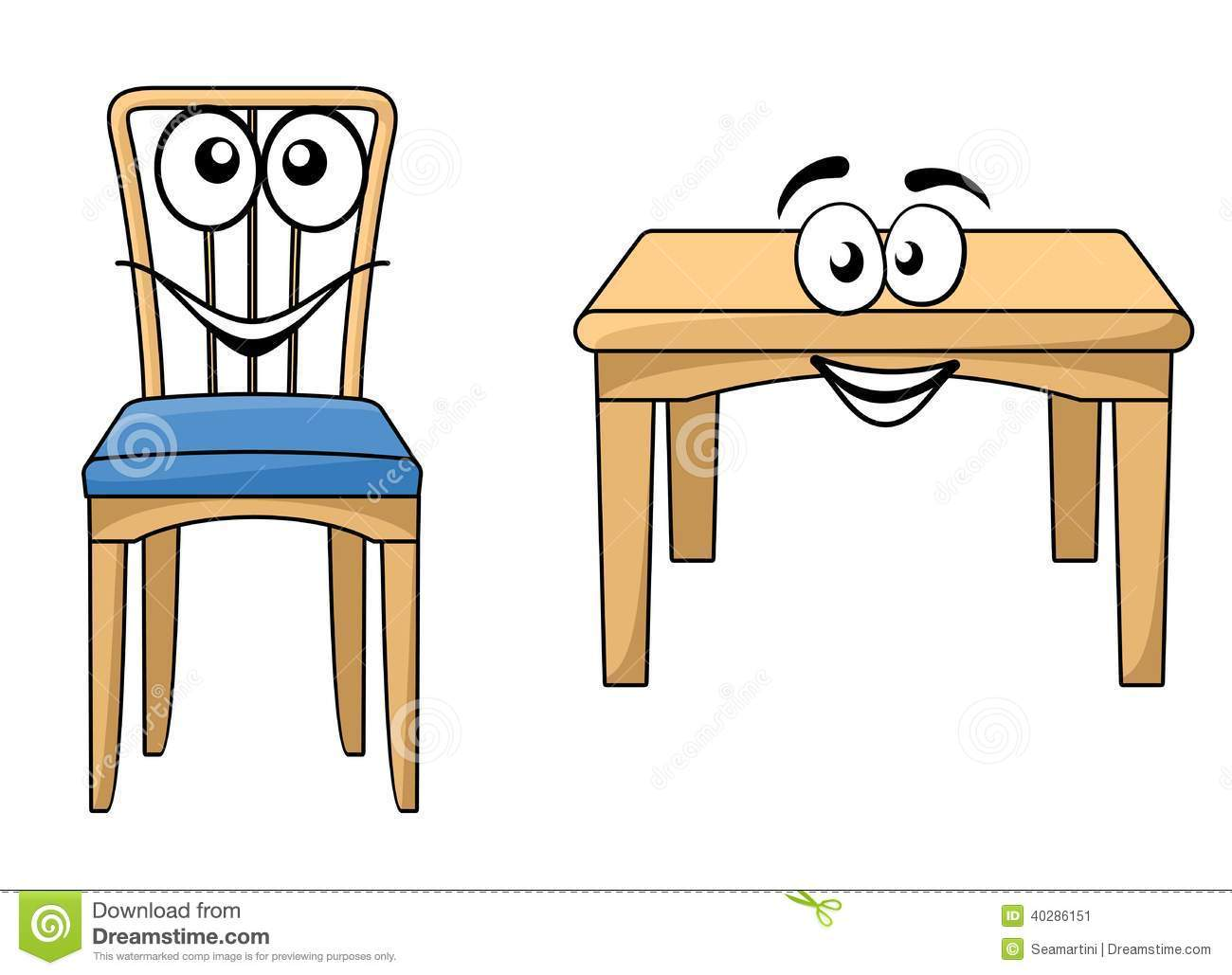 Chair table clipart 4 » Clipart Portal jpg royalty free library