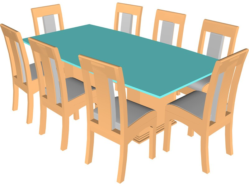 Chair at table clipart graphic stock Free Kitchen Table Cliparts, Download Free Clip Art, Free Clip Art ... graphic stock