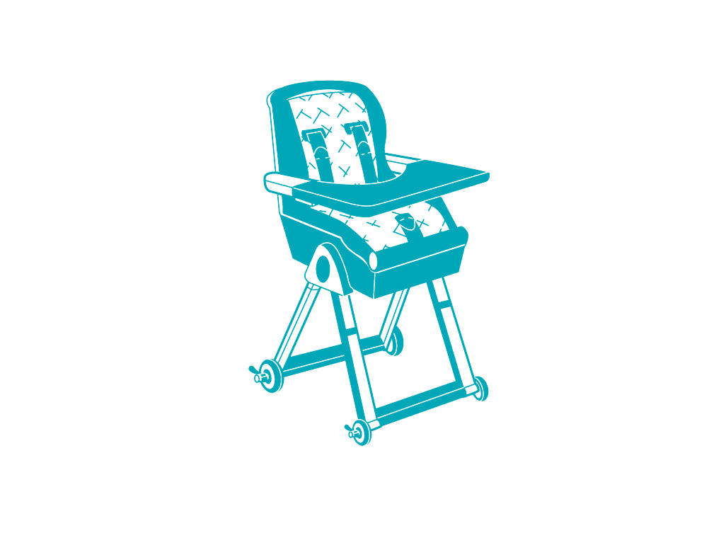 Chair checker clipart clip freeuse library How to buy a highchair | BabyCenter clip freeuse library