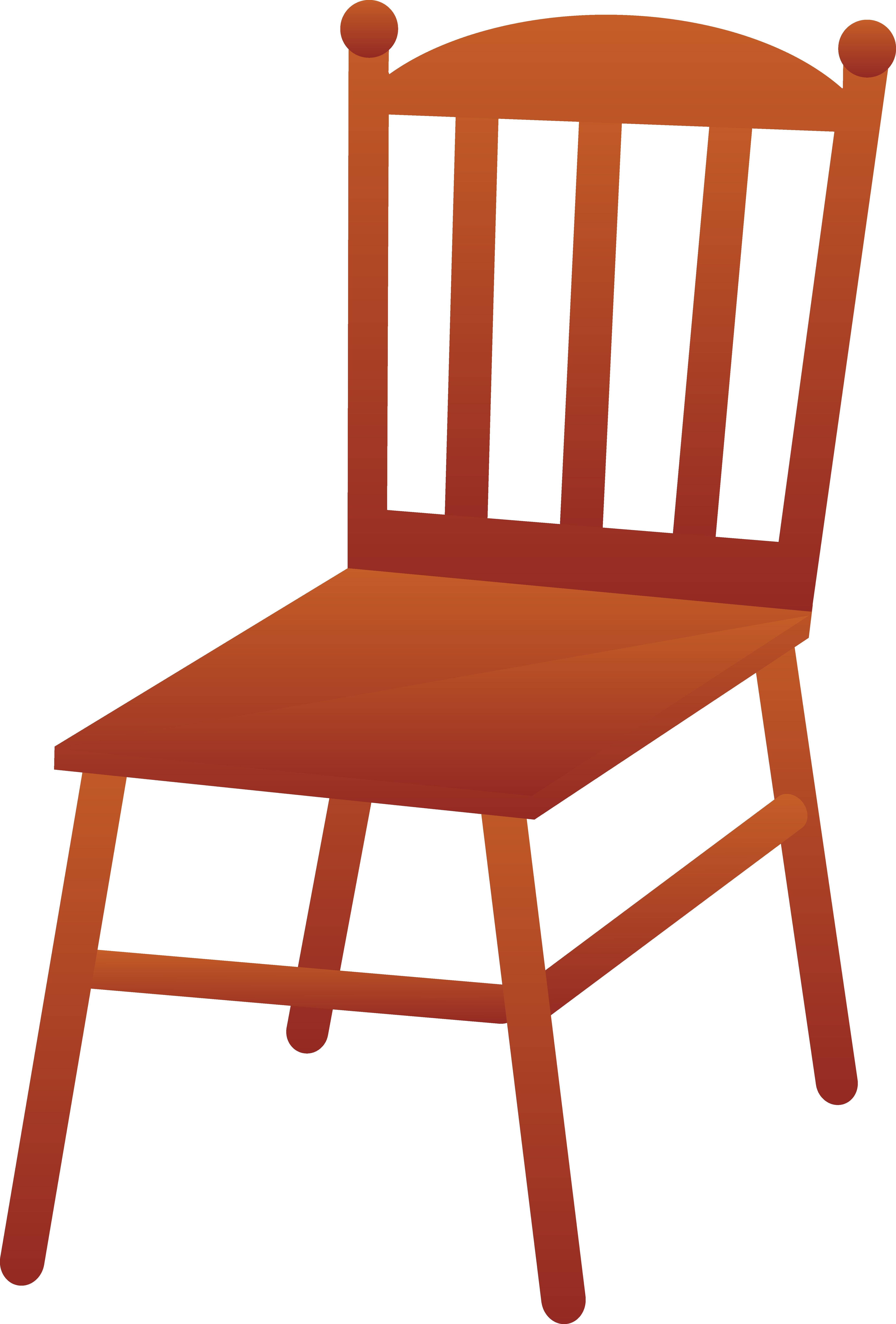 Chair clipart photo jpg transparent library Brown Wooden Chair - Free Clip Art jpg transparent library