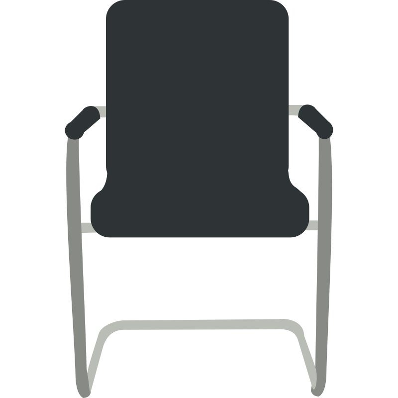 Chair front view clipart download Front Desk Office Chairs. office front desk furniture office - Clip ... download